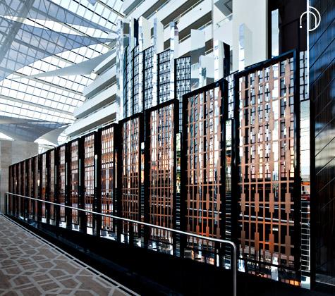 Lobby Screens, Crown Metropol