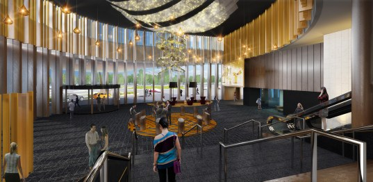 Mounties Entertainment Club Foyer, Sydney