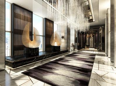 Arrival Lobby, Raffles Shenzhen