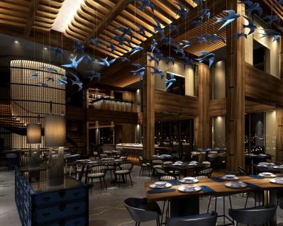 Zengo bar, Kempinski Hotel, Doha