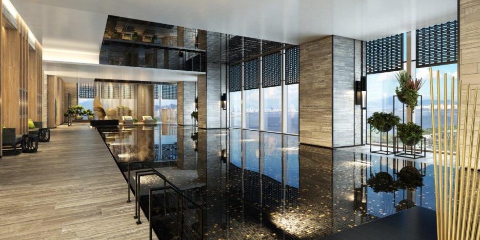 Pool, Raffles Shenzhen