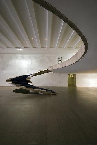 Oscar Niemeyer, 1962.
