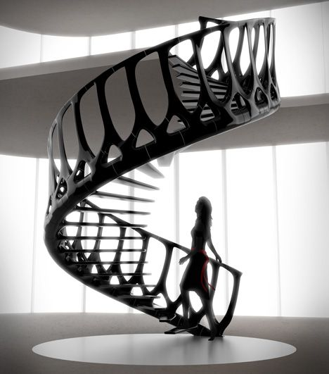 Staircase by Andrew McConnell