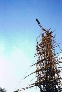 Land diving Tower Vanuatu