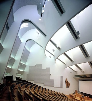 Alvar Aalto, Auditorium in Espoo, near Helsinki