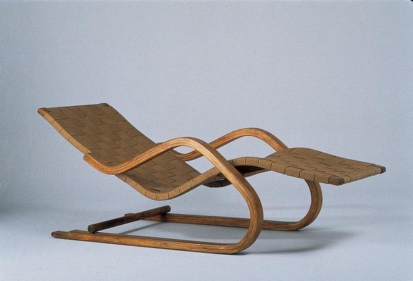 Alvar Aalto - Chaise longue n° 39 (1936)