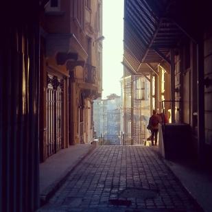 a Beyoglu street