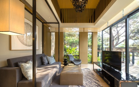 ronald Lu Sheraton Guangzhou Huadu Resort villa