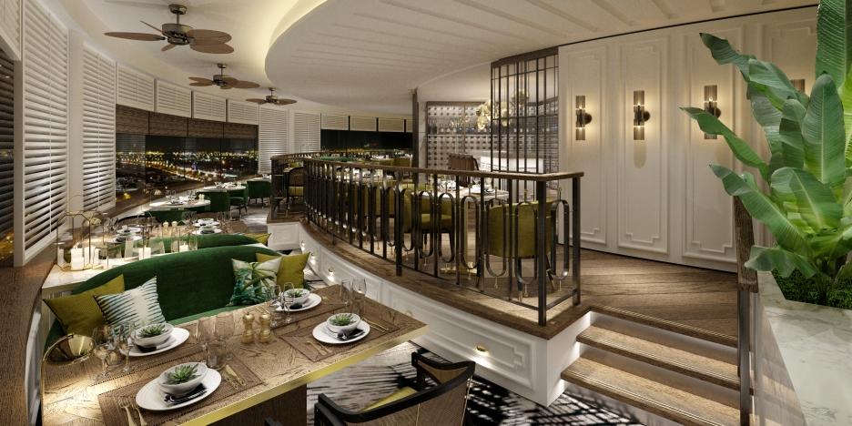 Al Dawaar, Hyatt Regency Dubai