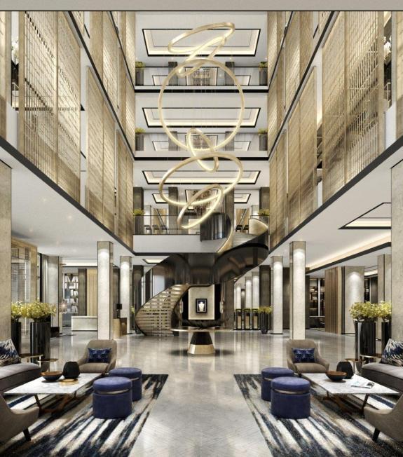 Lobby, Conrad Kuwait