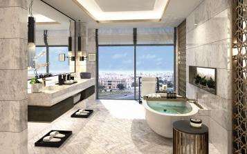 Suite, Lobby, Conrad Kuwait